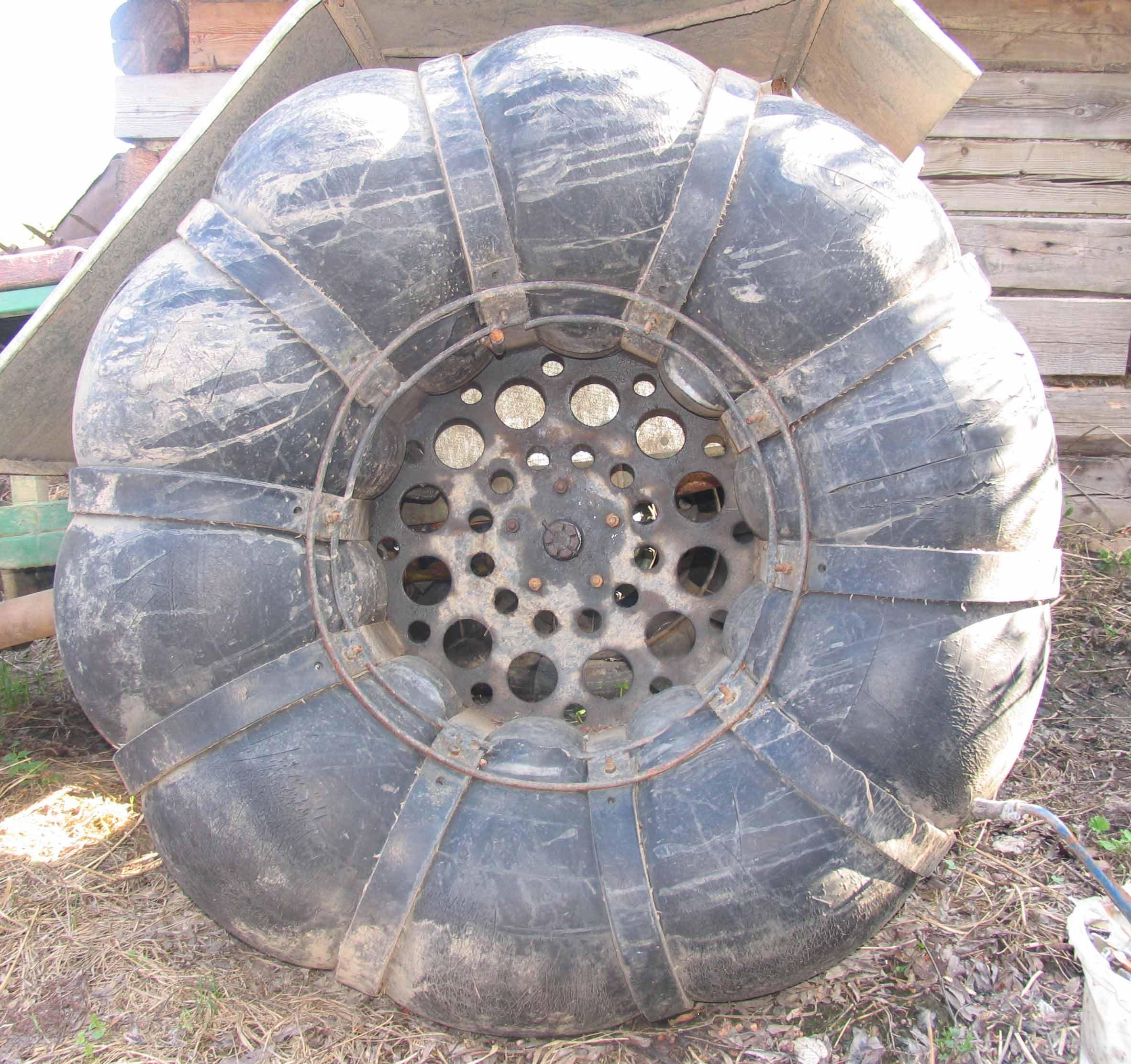 Как сделать колеса низкого давления своими руками, диски 40