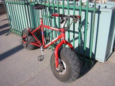 Велосипед пескоход