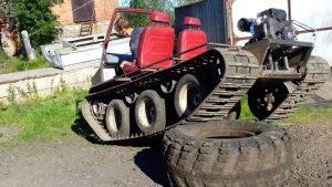Гусеницы или колеса