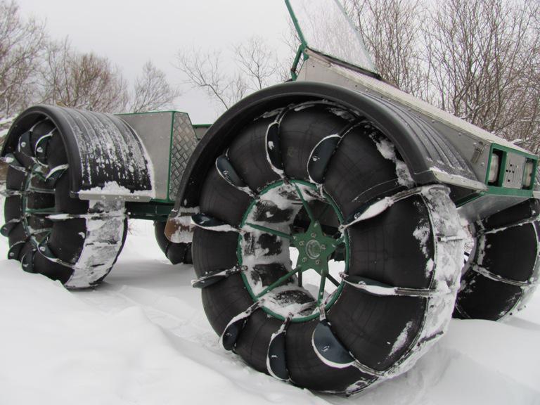 Вездеход снегоболотоход Нечто 2