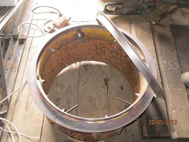 Приспособление для изготовления запорных колец