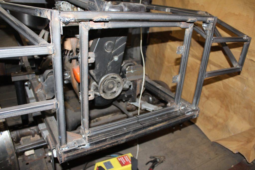 Рамка для крепления радиатора