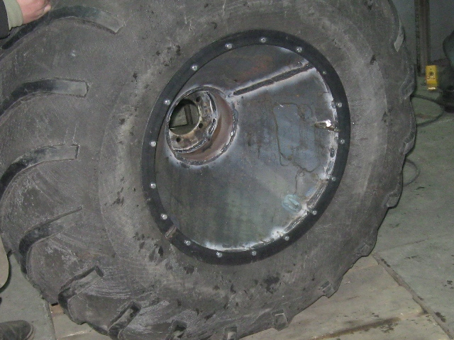 Сборка дисков примерка