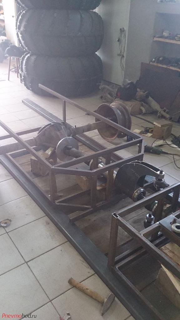 Процесс строительства вездехода Матиз